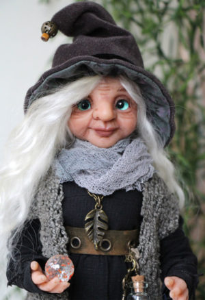 кукла тролль Аделина