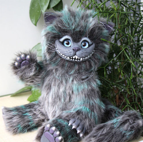 игрушка улыбка Чеширского кота