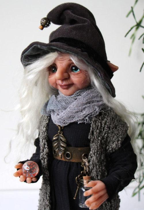 Аделина кукла тролль