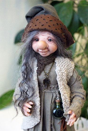 Тролль Рада - кукла на заказ